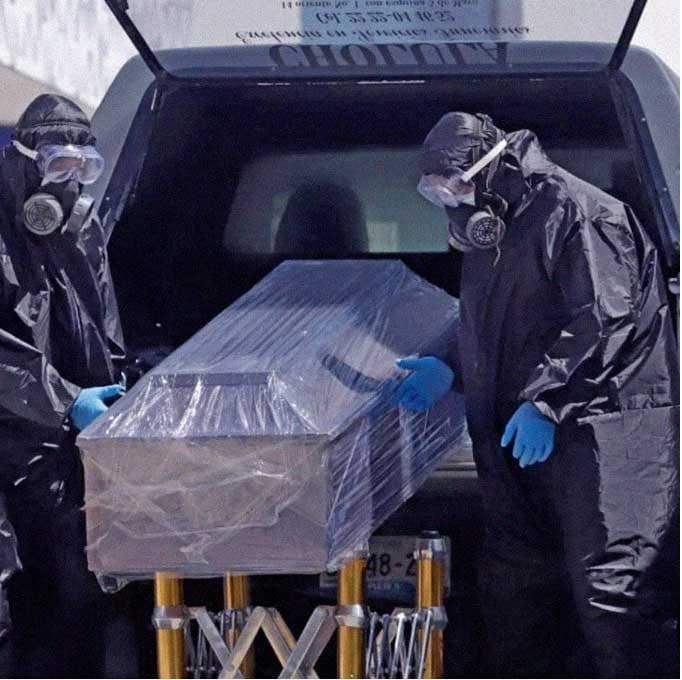 MÉXICO REGISTRA LA SEGUNDA CIFRA MÁS ALTA DE MUERTES COVID EN UN DÍA.